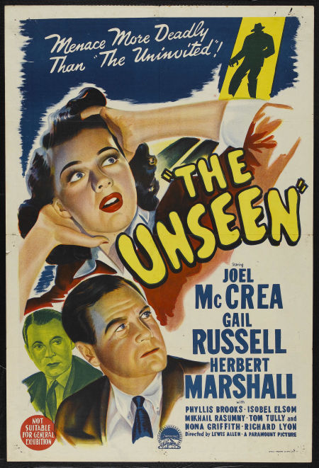 Laura S Miscellaneous Musings Tonight S Movie The Unseen