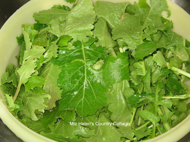The Turnip Green Journey at Miz Helen's Country Cottage
