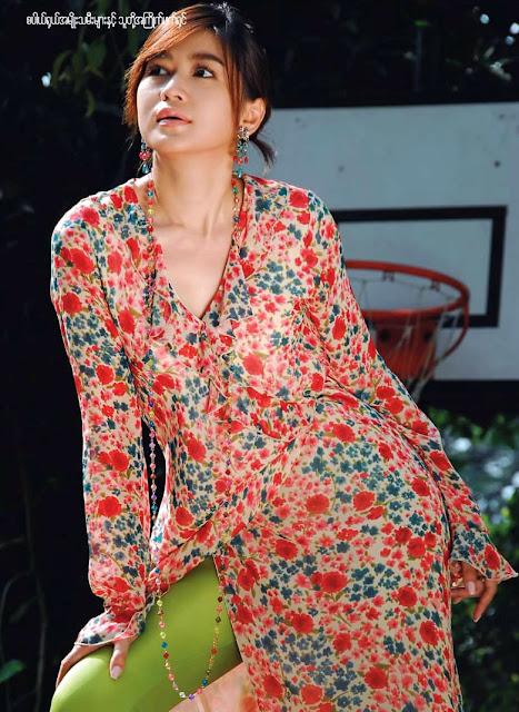 Eaindra kyaw zin sexy photo