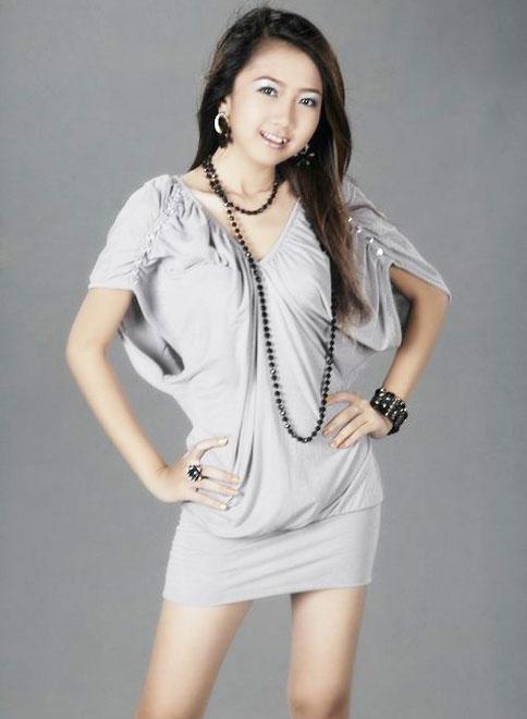 Myanmar Cute Teenage Model Girl, Mechi Ko  Khmergallery-3034