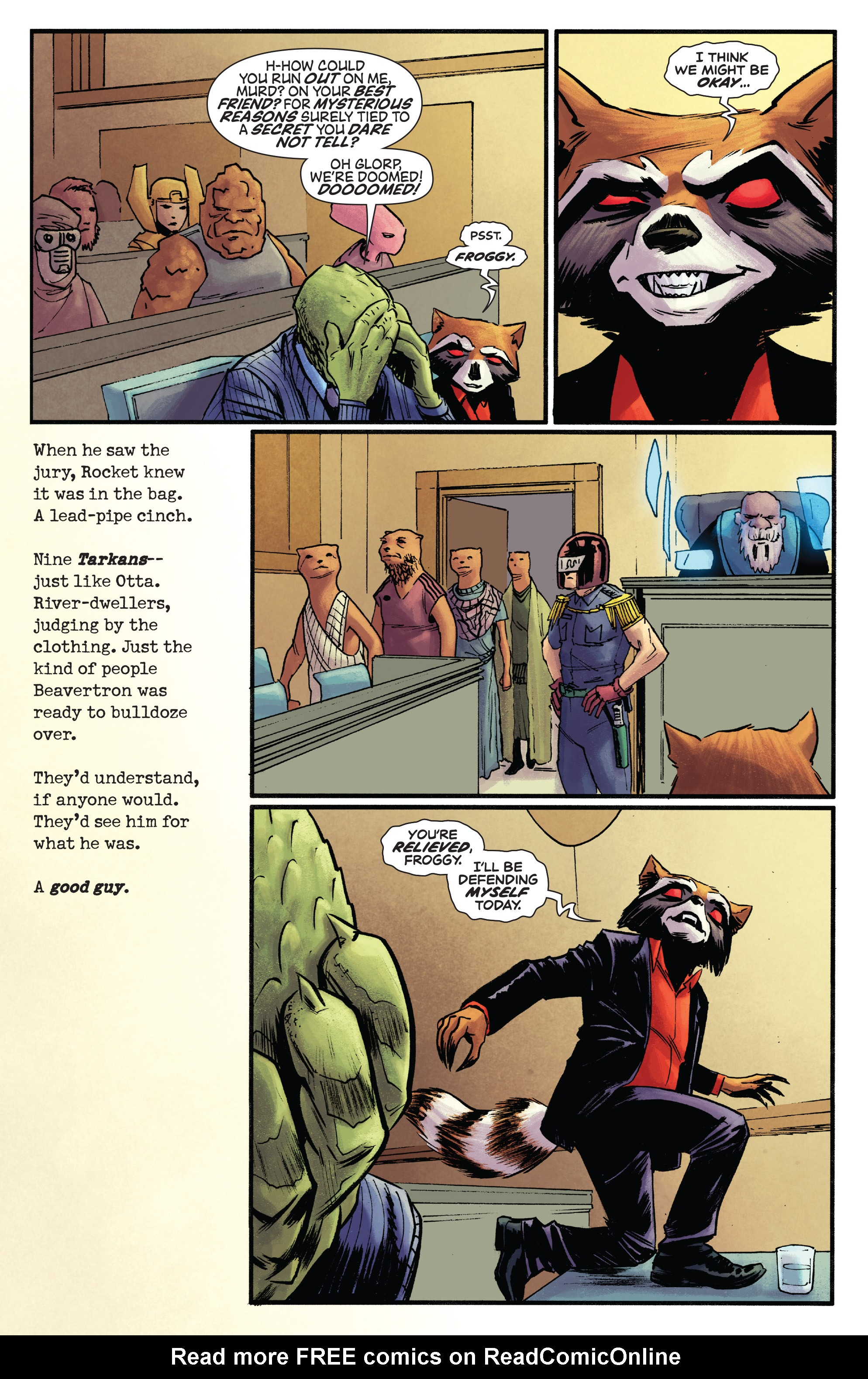 Read online Rocket comic -  Issue #2 - 17