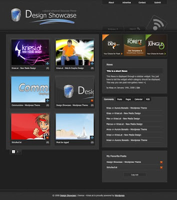 Theme Forest Design Showcase Free Premium WordPress Themes