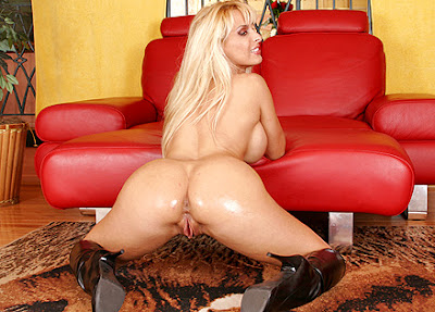 Holly Halston Oily Hard Ass Fuck 107