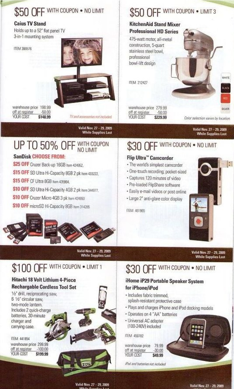 COSTCO: Black Friday Ad Released! — Coupon Pro
