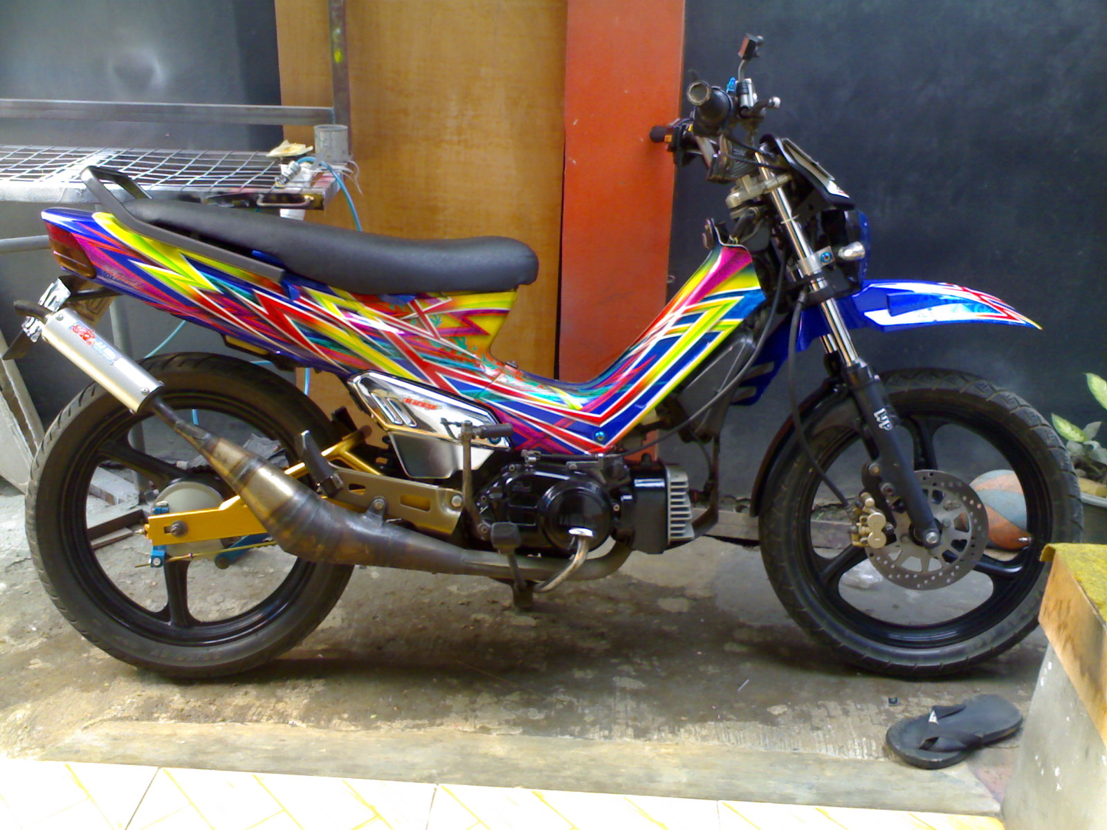 Hilmy Zara's: Yamaha Force 1 Light Modified