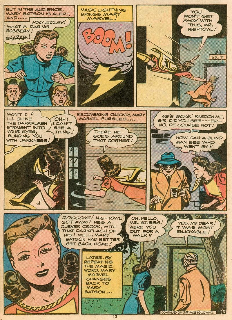Read online Shazam! (1973) comic -  Issue #12 - 13
