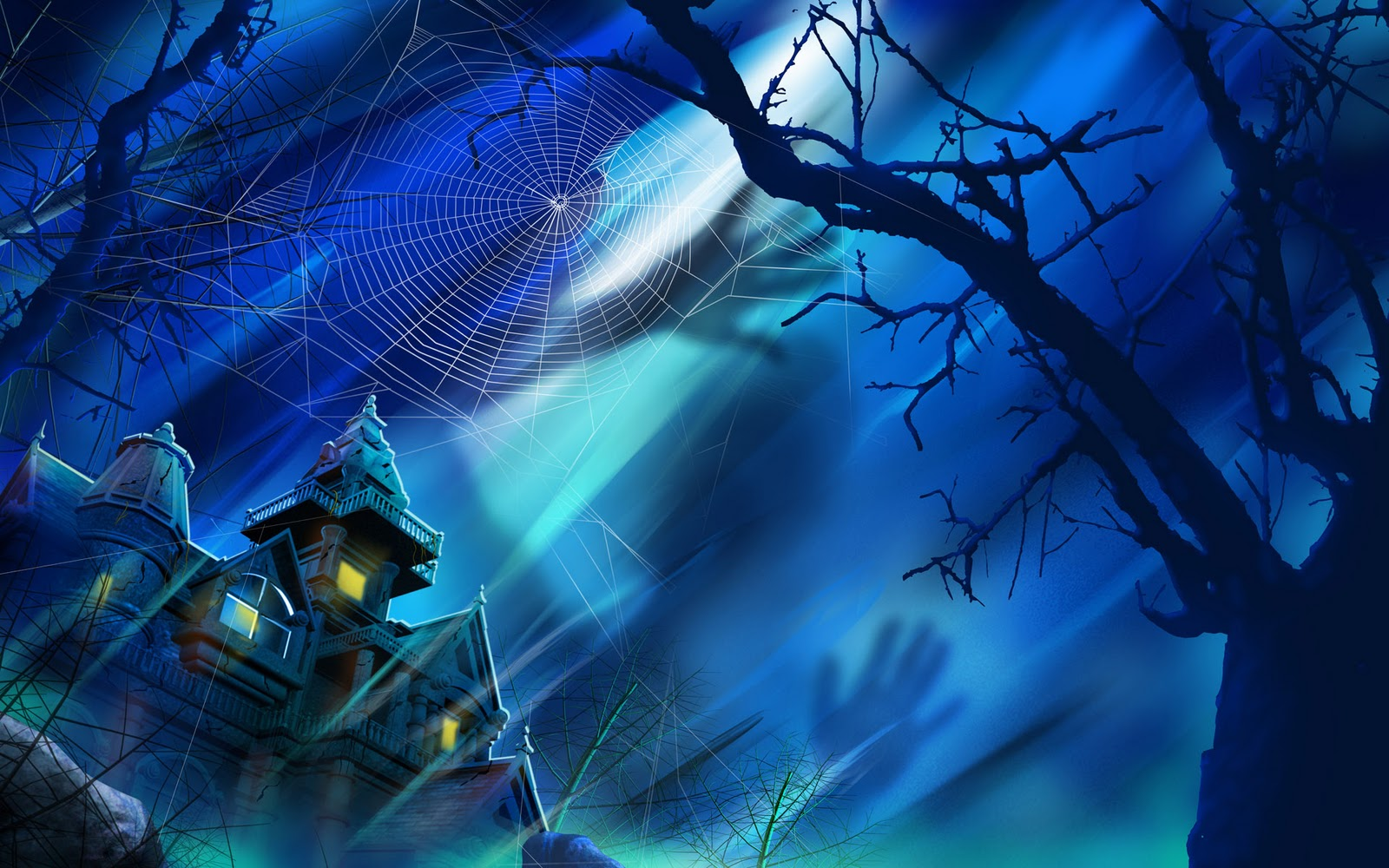 High definition photo and wallpapers halloween desktop - Scary animated backgrounds ...