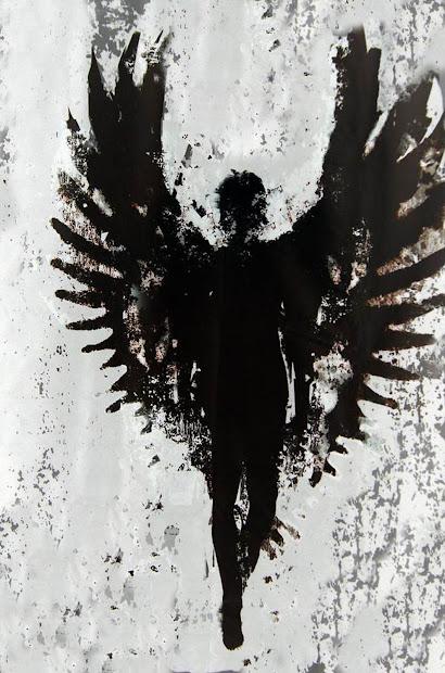 Fallen Angel Black Wings