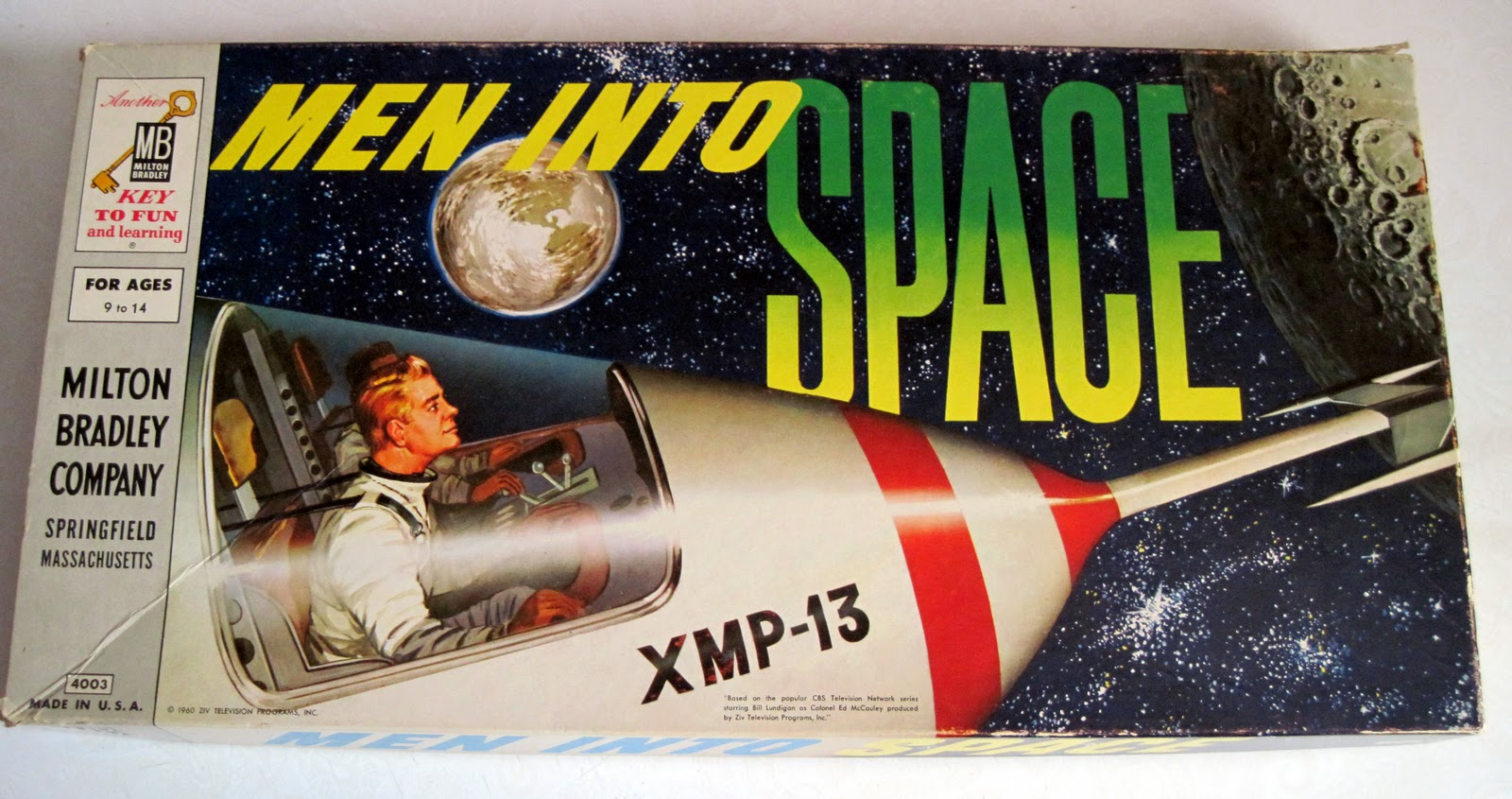 Toys And Games : Tracy s toys and some other stuff men into space game