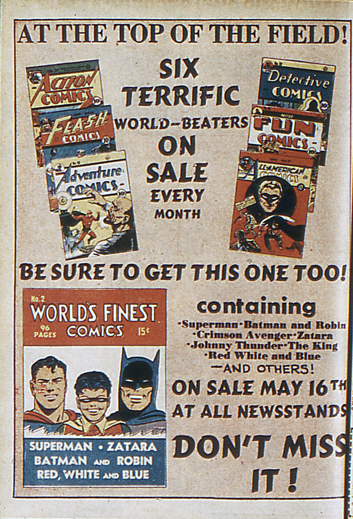 Read online Adventure Comics (1938) comic -  Issue #63 - 67