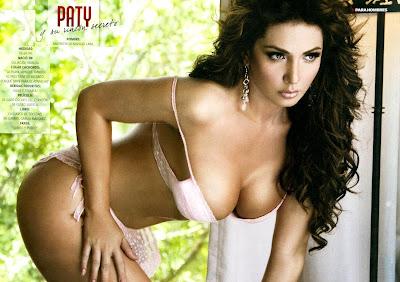 Fotos Paty Navidad Revista H para Hombres Septiembre 2010