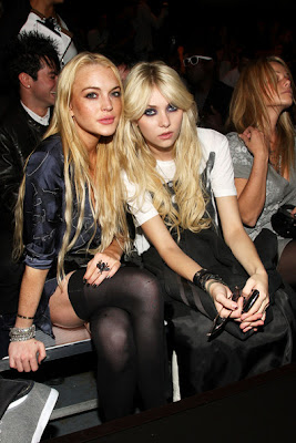 Lindsay Lohan and Taylor Momsen Get Up picture