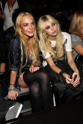 Lindsay Lohan and Taylor Momsen Get Up pic