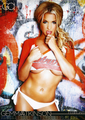 Gemma Atkinson 2010 Calendar hot photo