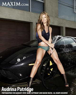 Audrina Patridge on Maxim Magazine October 2009 hot pic