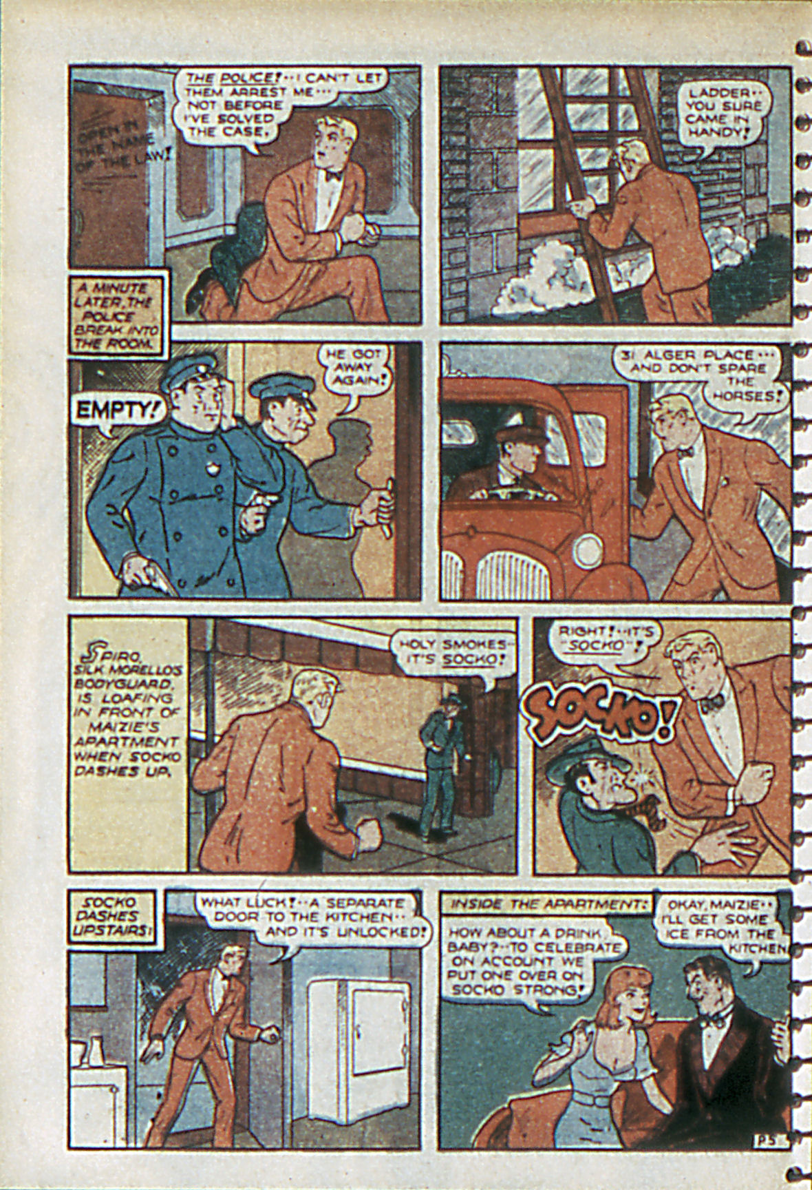 Read online Adventure Comics (1938) comic -  Issue #55 - 45
