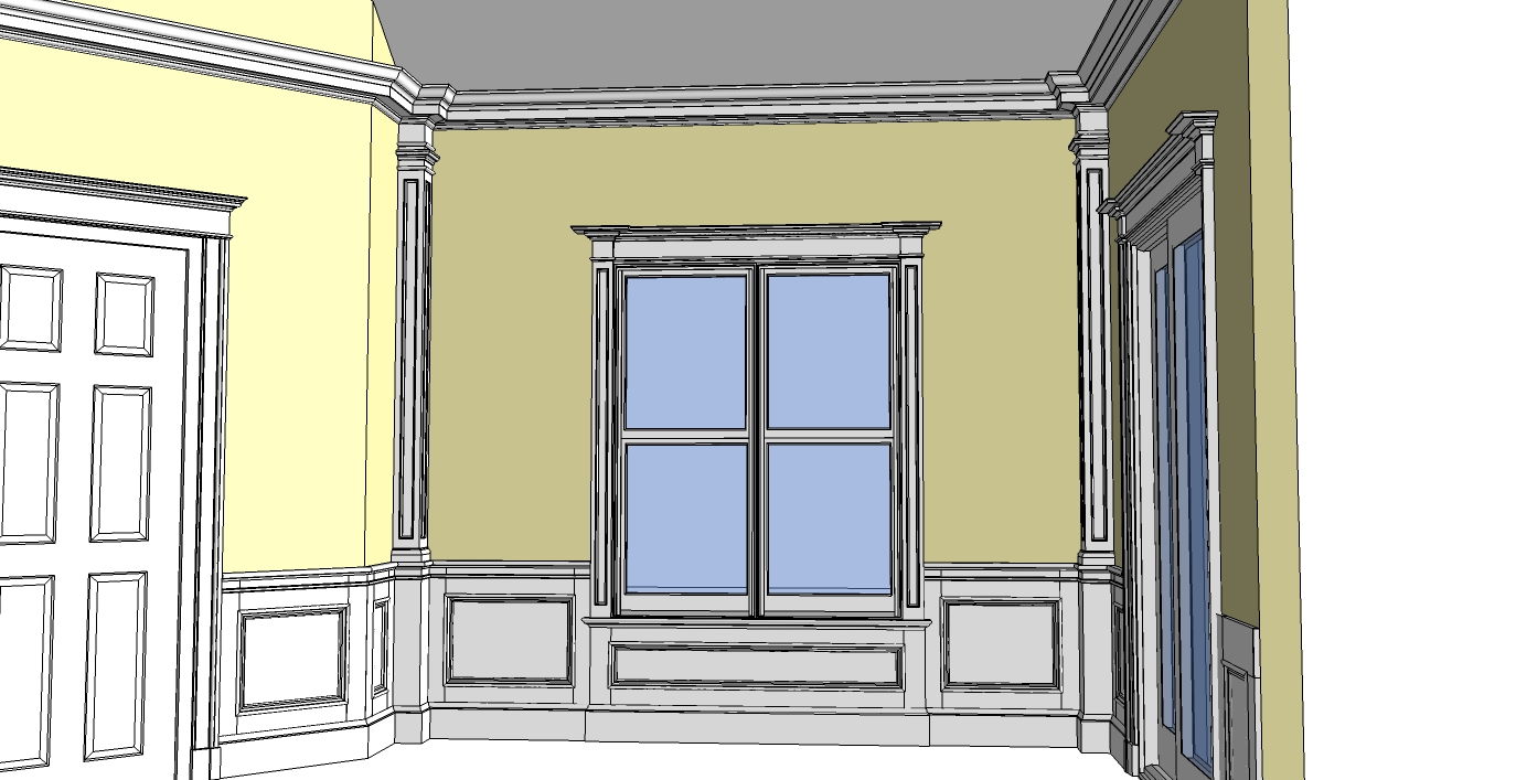 Architectural molding 39 s blog the colonial style for Colonial style trim