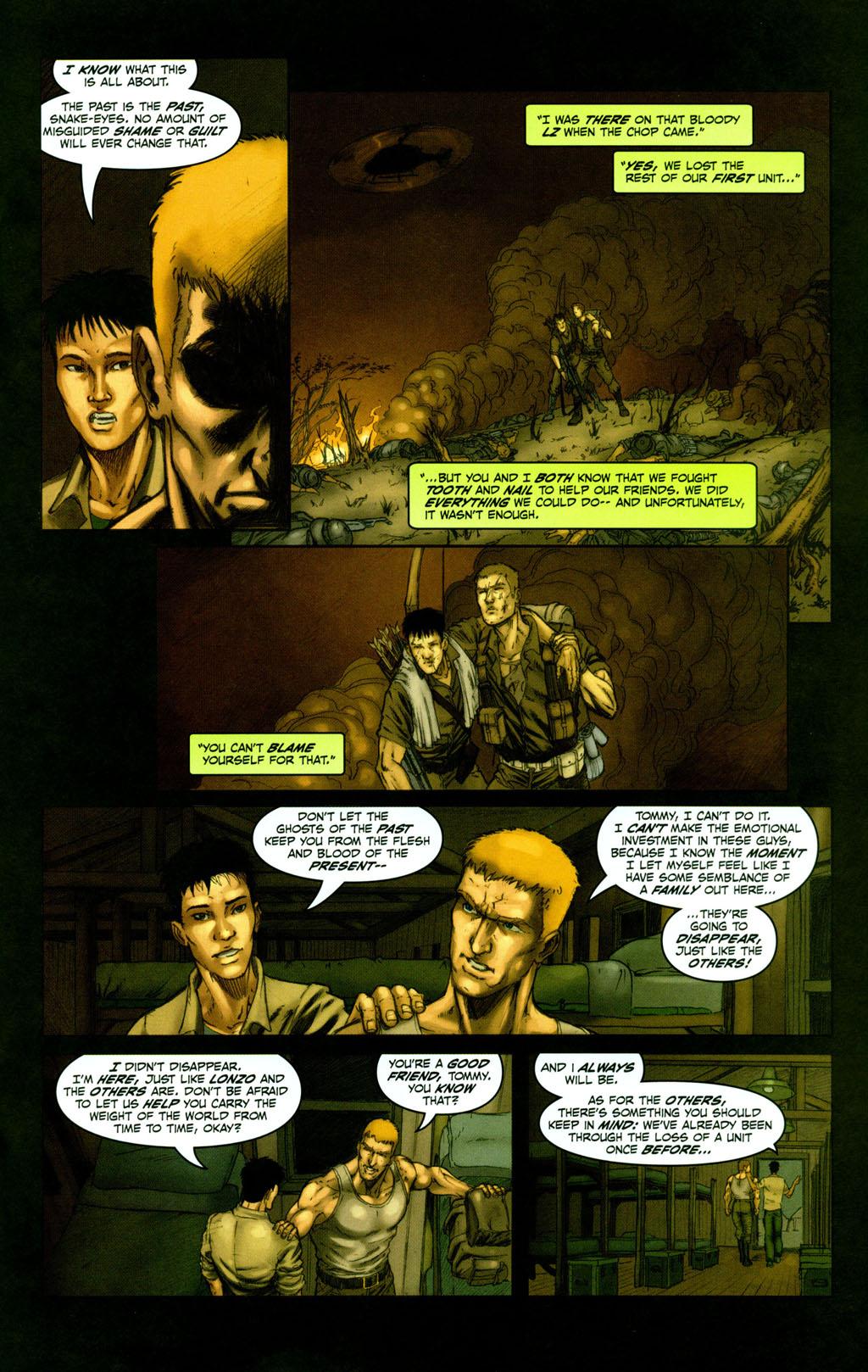 Read online Snake Eyes: Declassified comic -  Issue #1 - 15