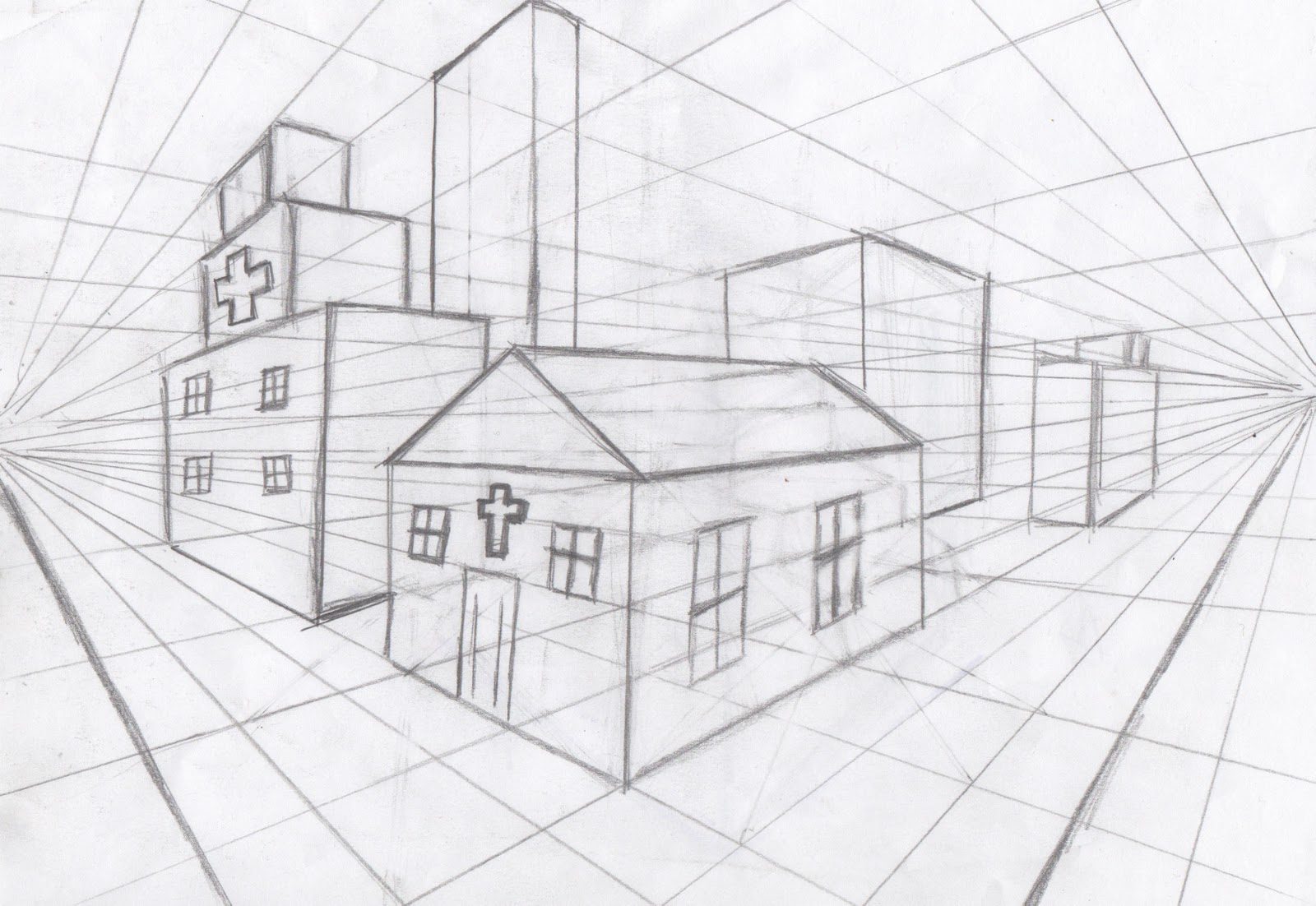 Perspective, Cc drawing and Drawing lessons on Pinterest