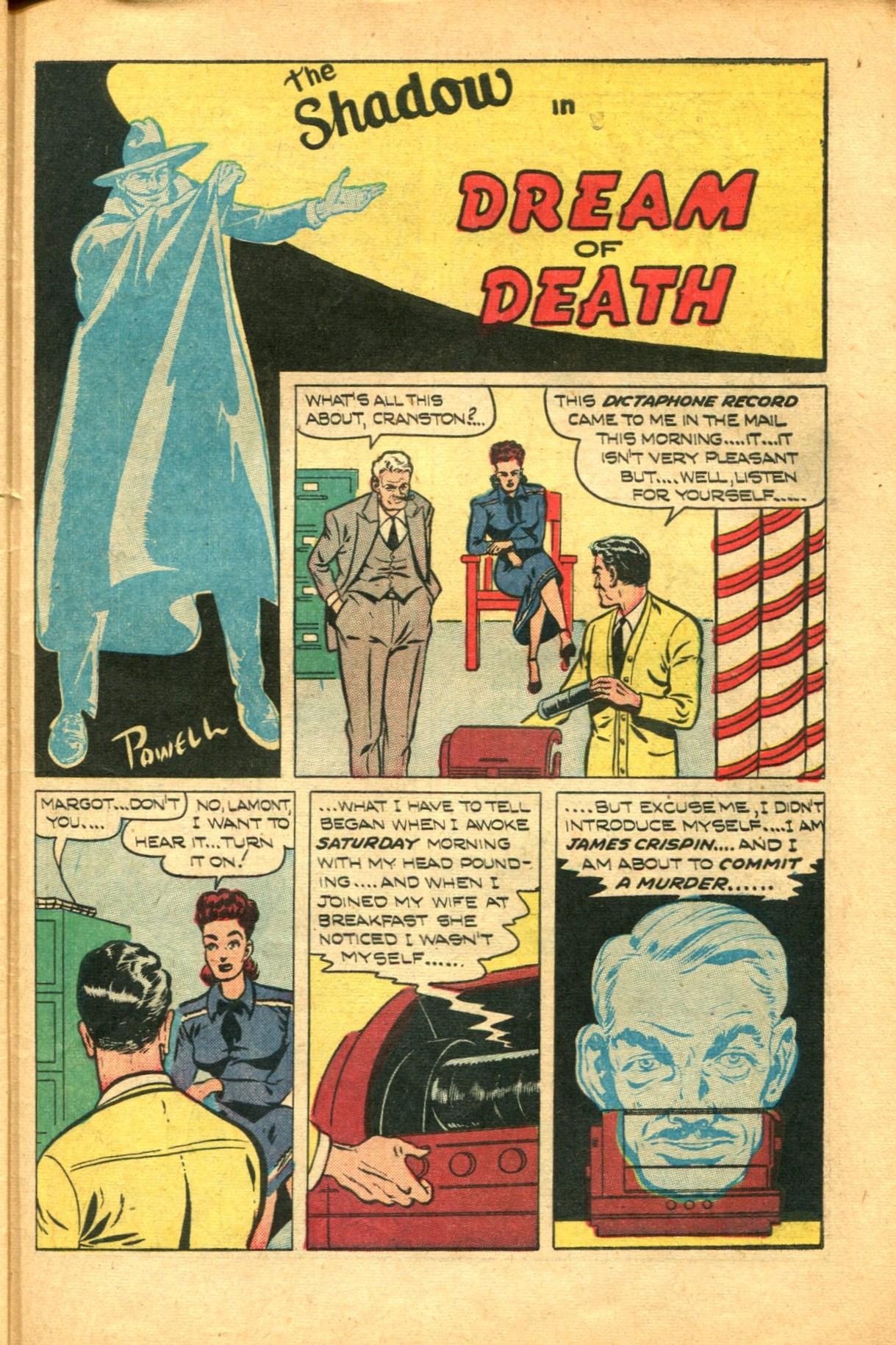Read online Shadow Comics comic -  Issue #91 - 39