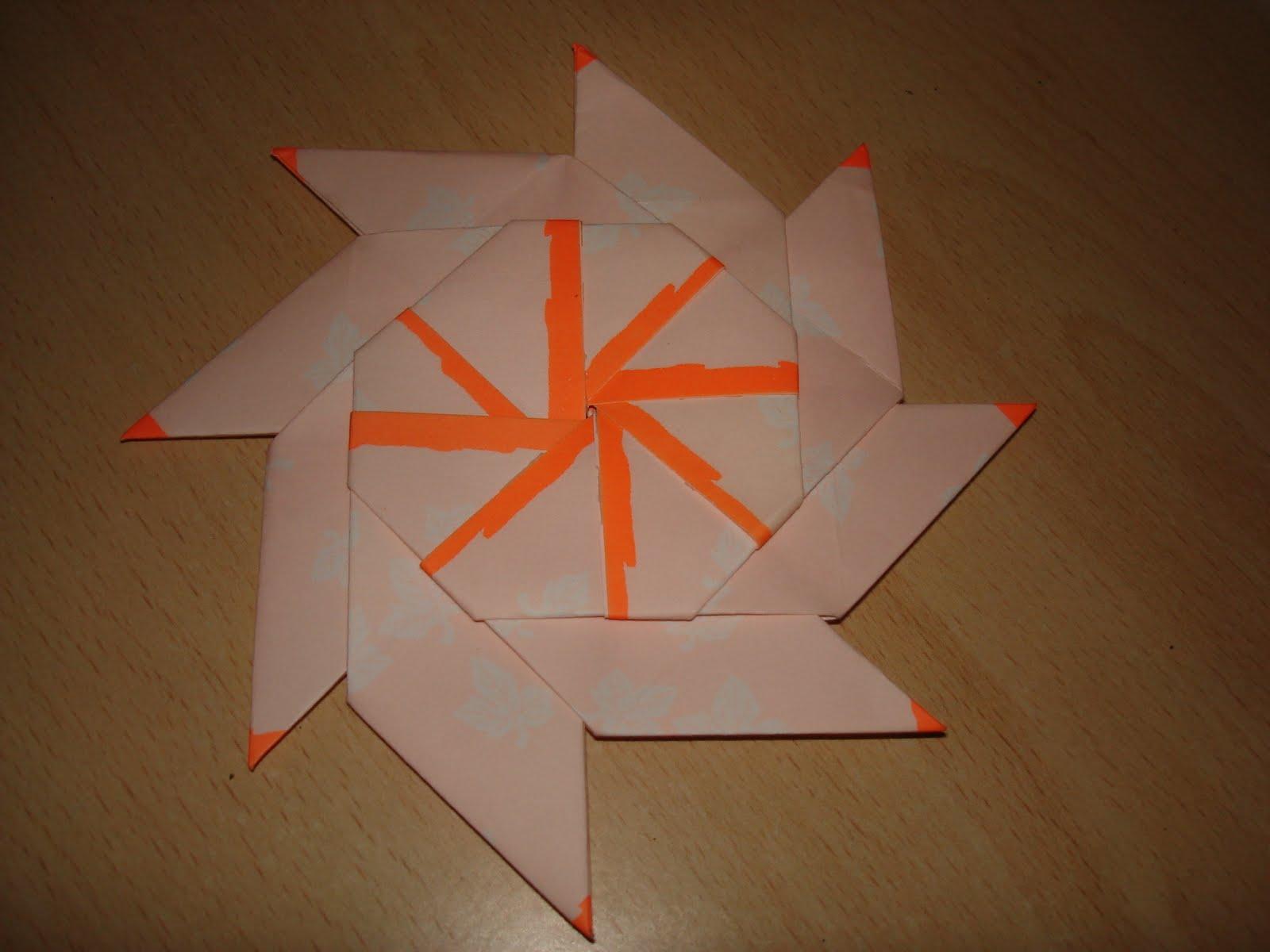 Origami Symmetrical Shuriken Star Tutorial - Paper Kawaii | 1200x1600
