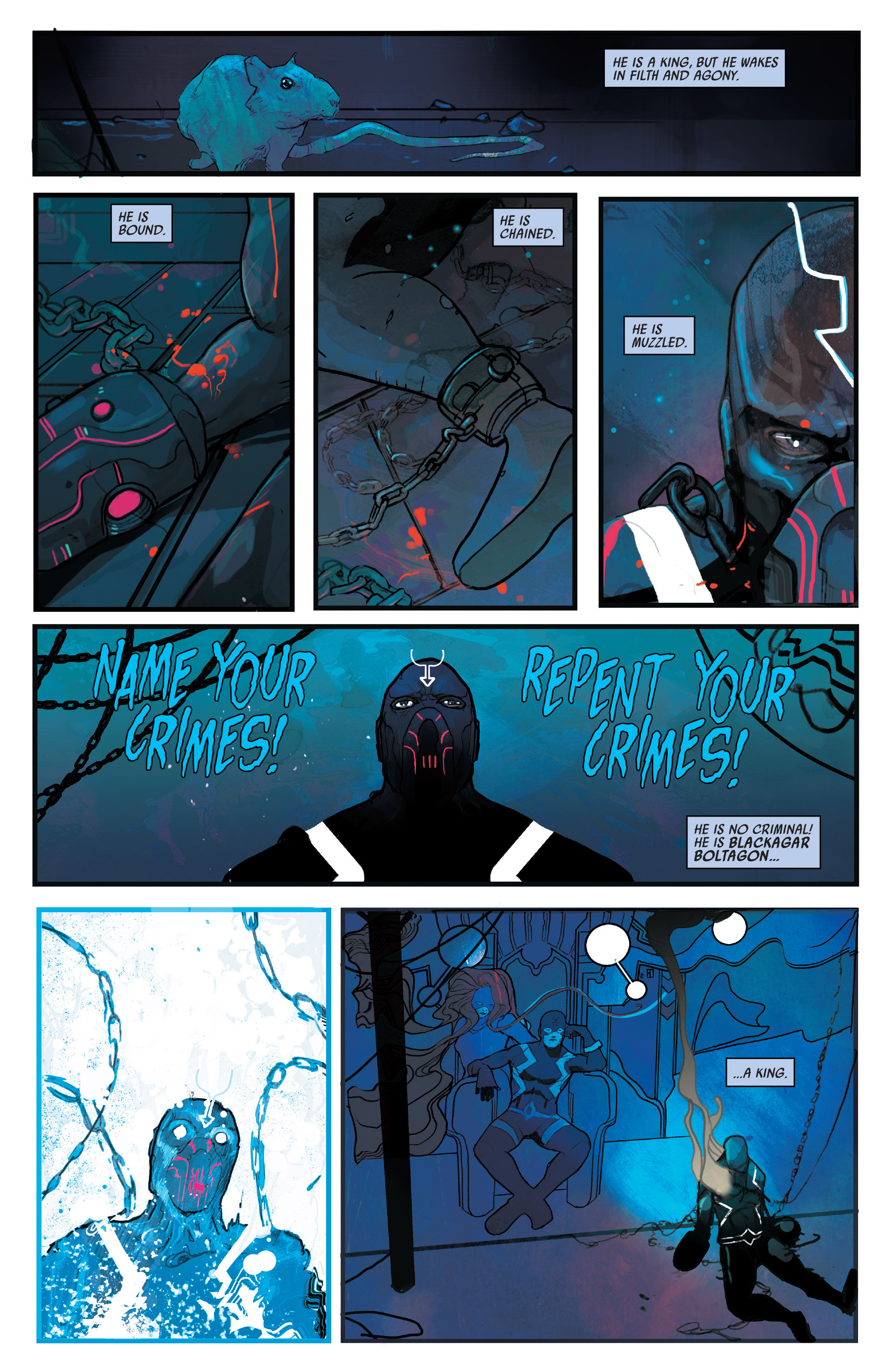Read online Black Bolt comic -  Issue #1 - 5