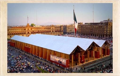 Arte arquitectura efimera for Pabellones arquitectura efimera