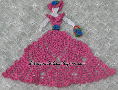 Crinoline Ladies Crochet Pattern Crochet Patterns