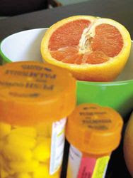 Grapefruit Juice Dangerous Medication Interactions