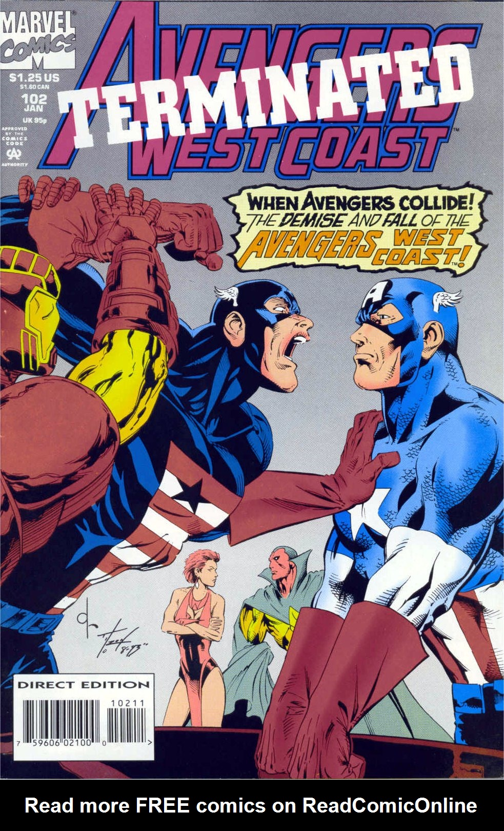 Avengers West Coast (1989) 102 Page 1