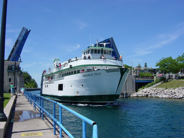 Ferry Boat To Beaver Island