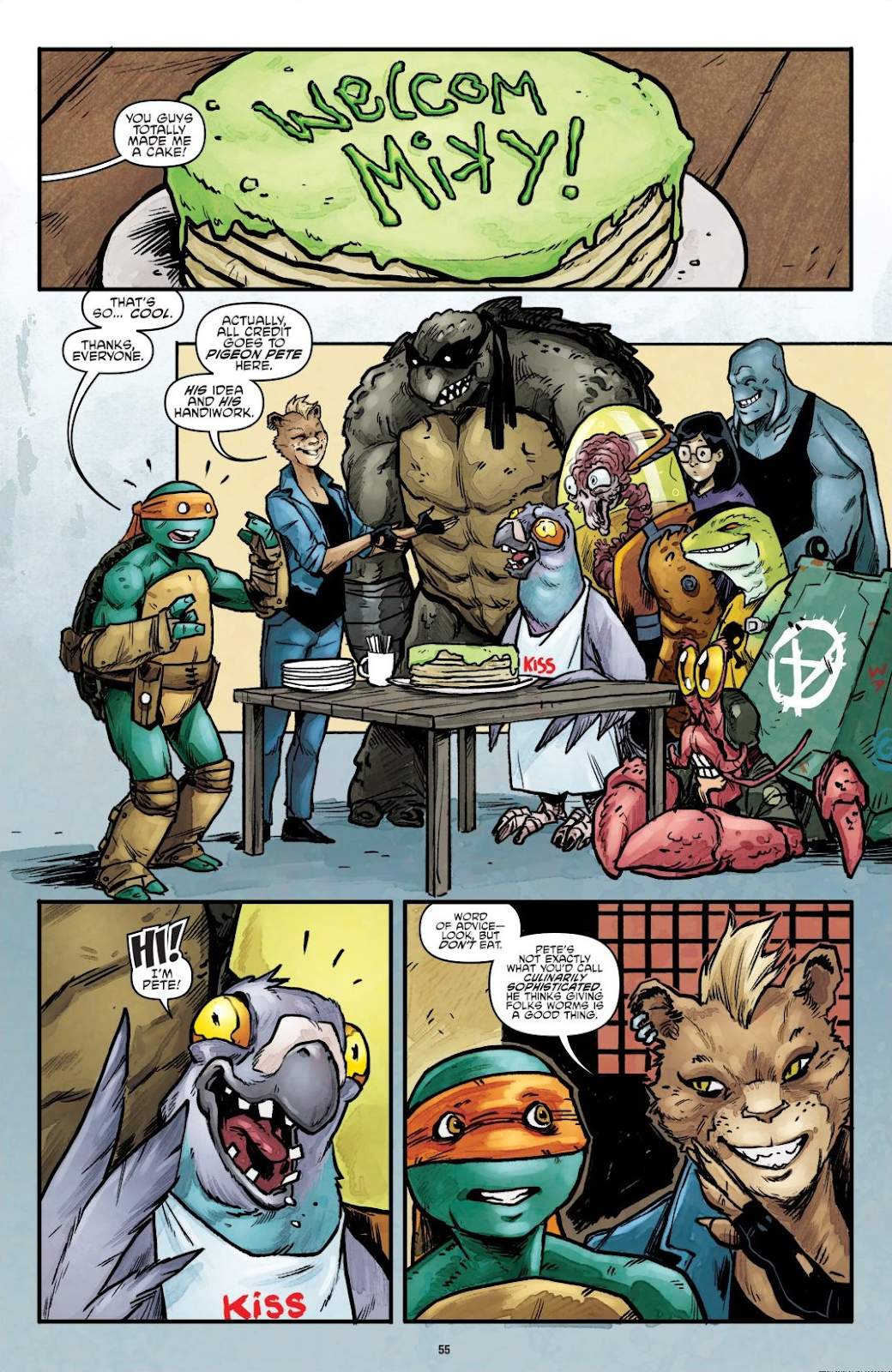Read online Teenage Mutant Ninja Turtles: The IDW Collection comic -  Issue # TPB 7 (Part 1) - 54