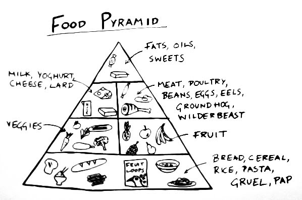 Ingvar in Africa: A Better Food Pyramid