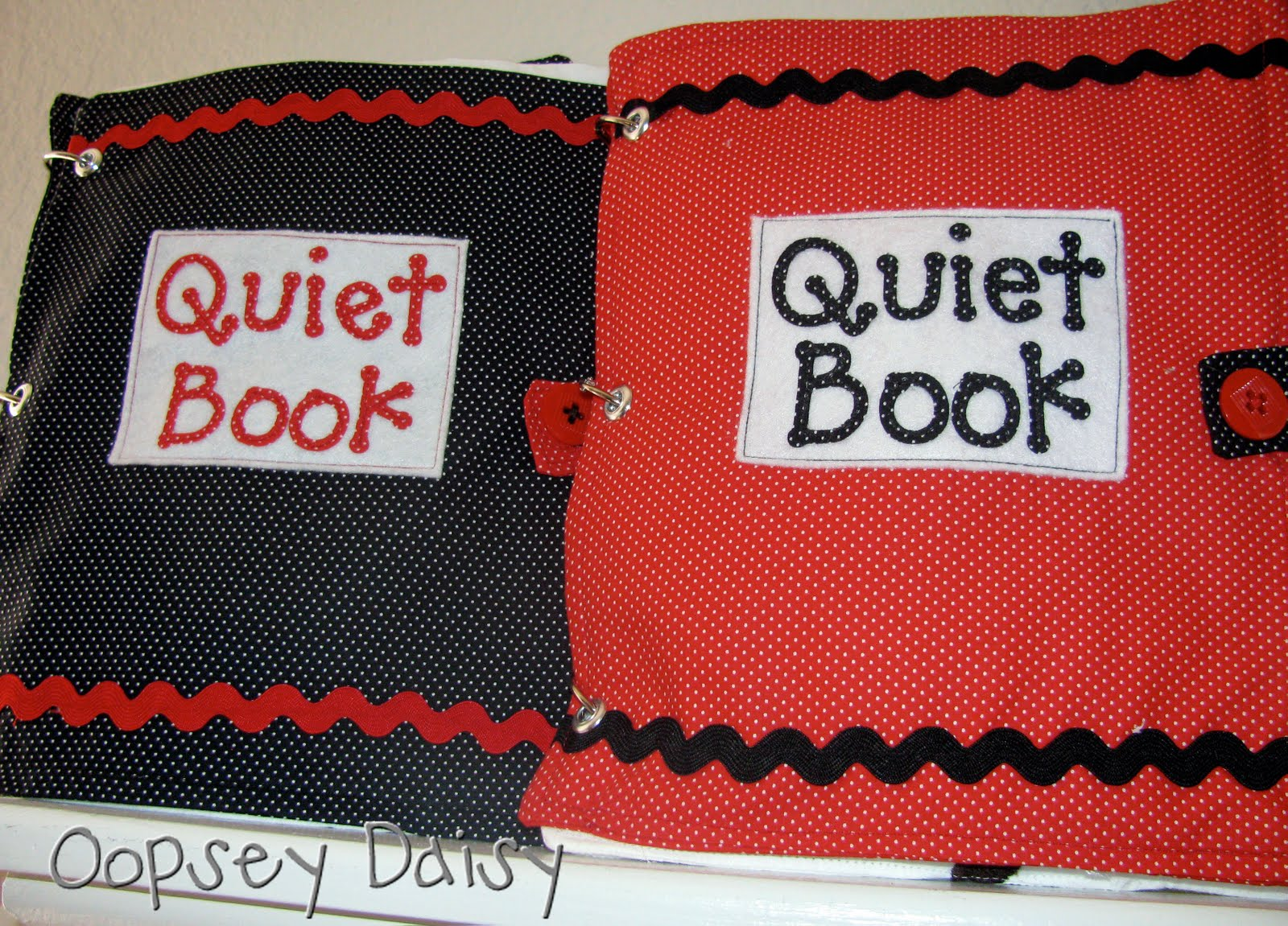 The Quiet Book Makes Its Debut!