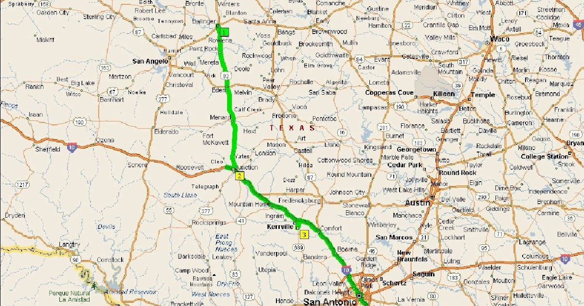 Roving Reports By Doug P 10 08 San Antonio To Kerrville
