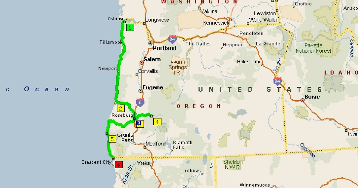Roving Reports By Doug P 38 2009 Port Orford Oregon To