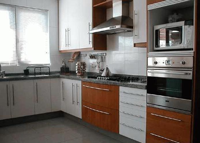 Muebles decoratiba adolfo ibarra v mueble de cocina m dulos con jaladores lineales en acero - Muebles cocina modulos ...
