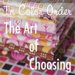 In Color Order - The art of choosing