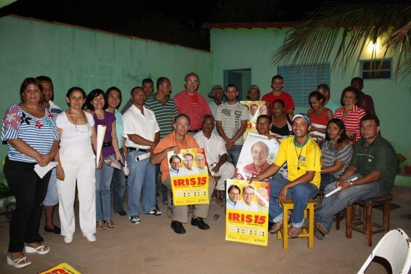 Blog Dinomar Miranda: Canditato do PT vai a Campos Belos e