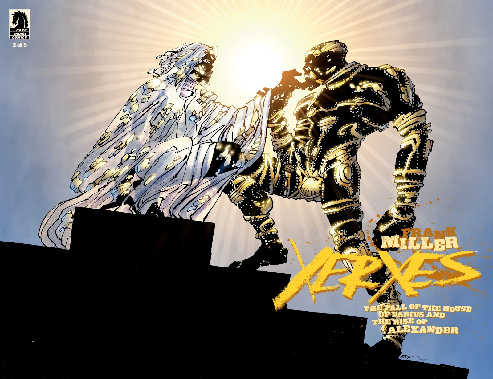 Xerxes: The Fall of the House of Darius and the Rise of Alexander issue 3 - Page 1