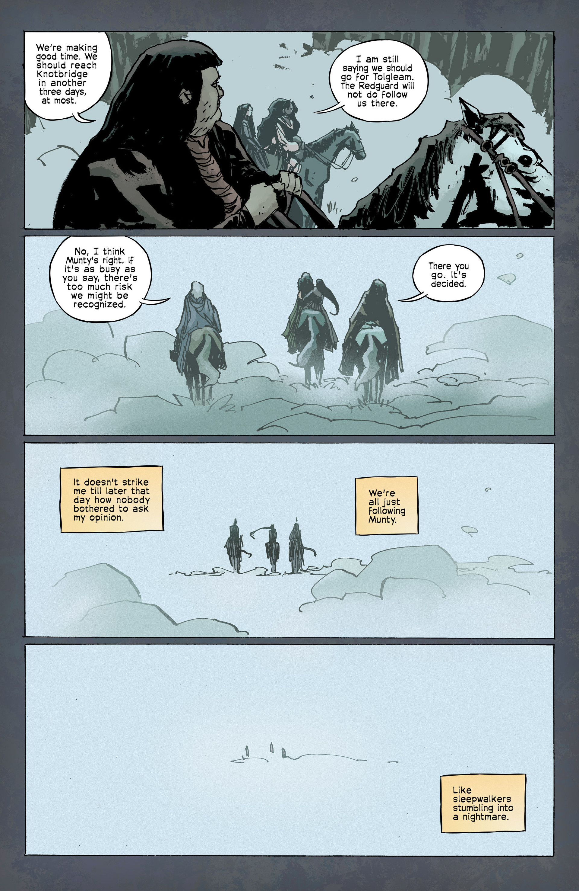 Read online Umbral comic -  Issue #8 - 16