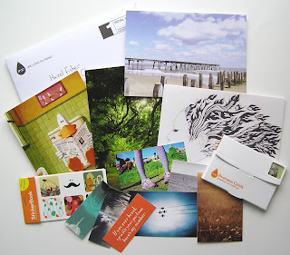 Hazel fisher creations moo samples inside were samples of greetings cards postcards business cards mini moo cards and stickers d reheart Images