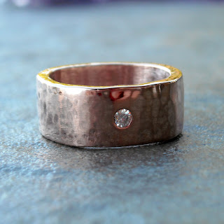 recycled rose gold ring
