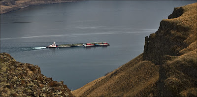 Wallula Gap Barge Columbia River