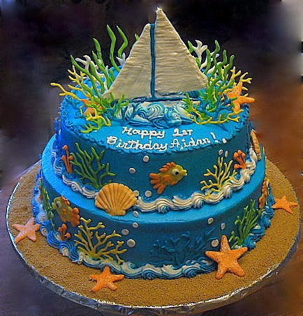 Fresh And Creative Ideas For Your Cakes Under The Sea Cake