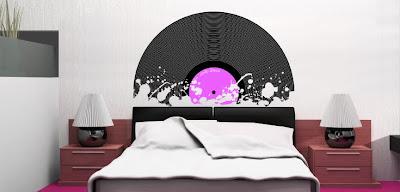 Vinyling vinilos decorativos cabeceros de cama con - Vinilo cabecero cama ...