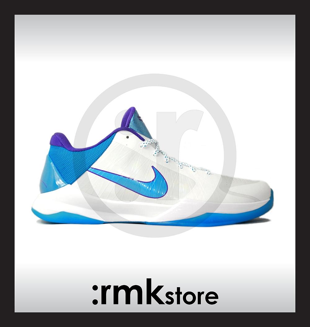 fff2cbccb054 rmkstore  Nike Zoom Kobe V 5 Draft Day Hornets 386429-100
