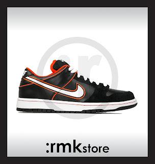 rmkstore  Nike Dunk Low Pro SB Black Orange Blaze 304292-010 07262bac4a99