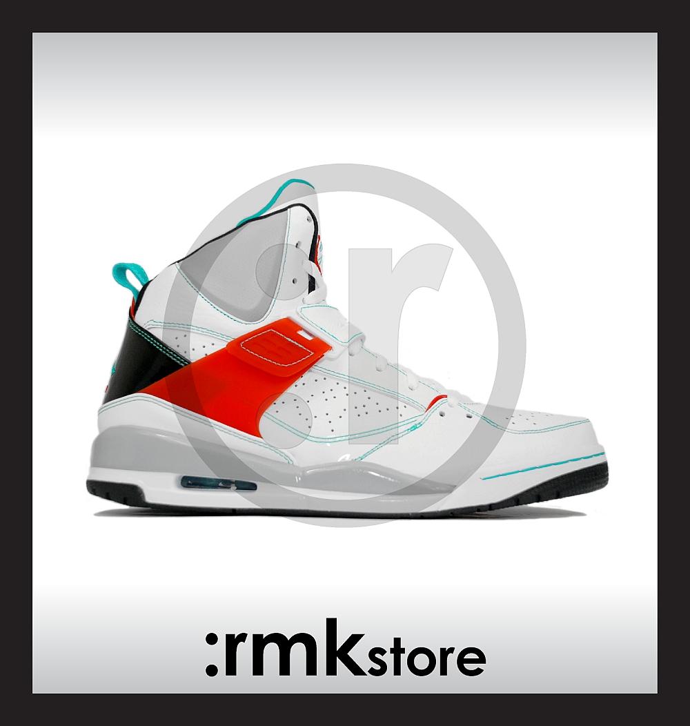 wholesale dealer baf54 cc3be Nike Jordan Flight 45 High White Spice 384519-107