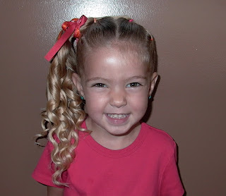 Little Girl S Hairstyles Twist Up Braids With Side